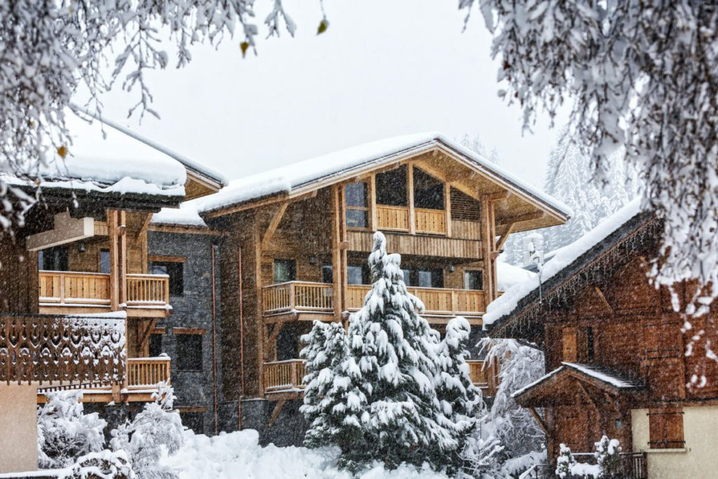 Luxury ski chalets to rent in Les Gets