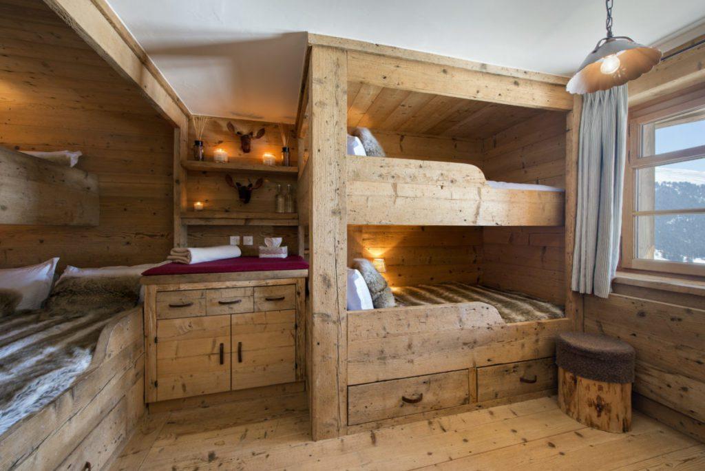 Bunk Room chalet Nyumba verbier lodge destinations