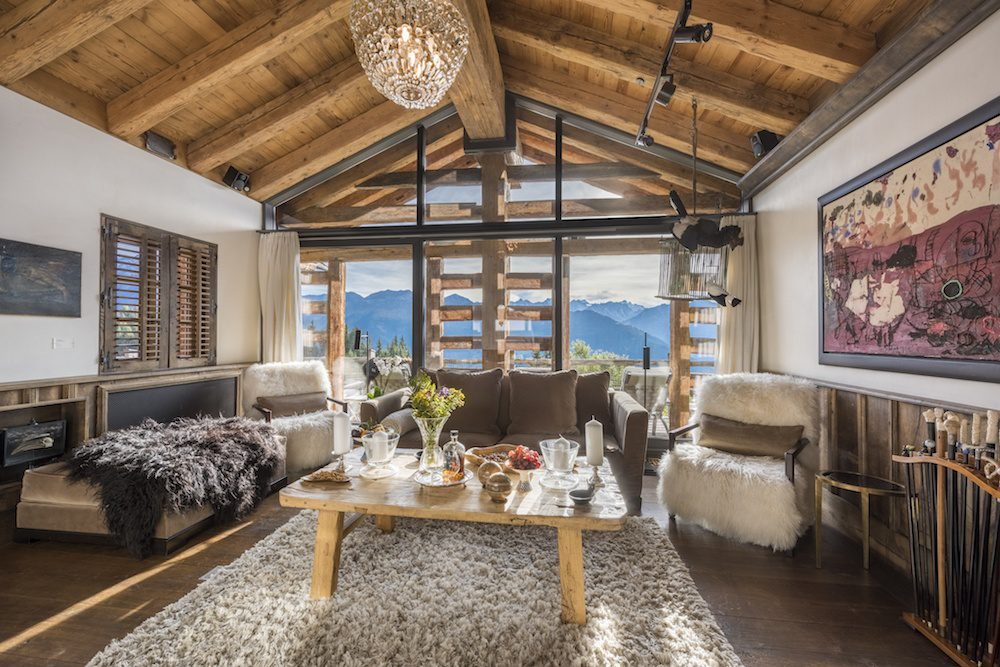 living room chalet bellaiuva verbier lodge destinations