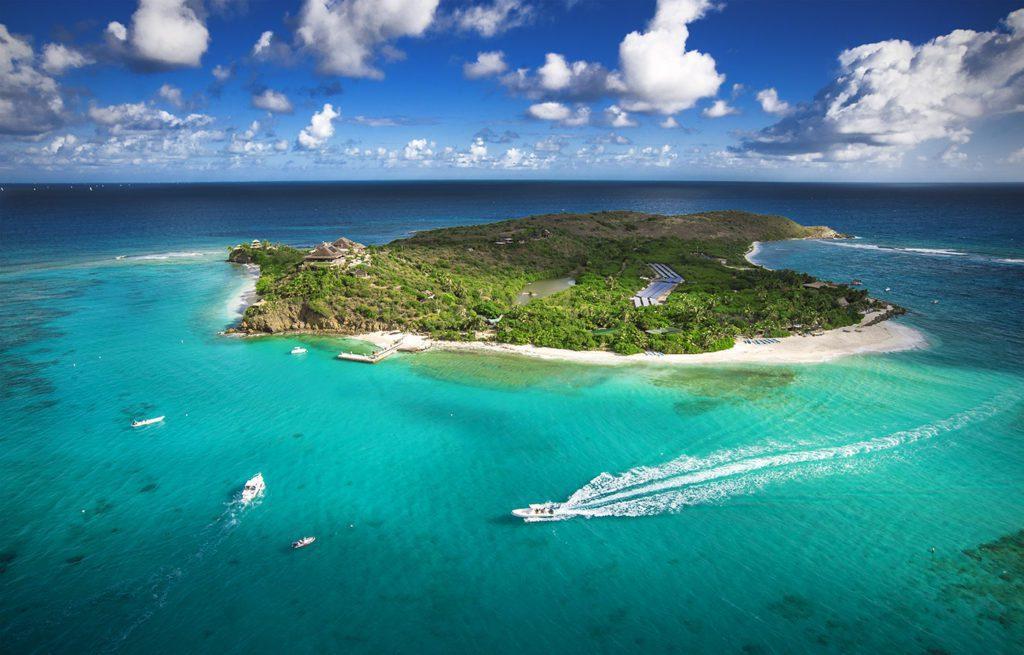 necker island aerial lodge destinations 1