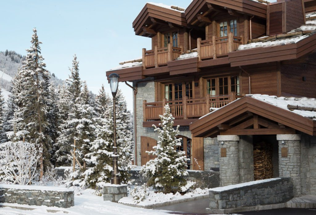 Luxury ski chalets to rent in Courchevel 1850