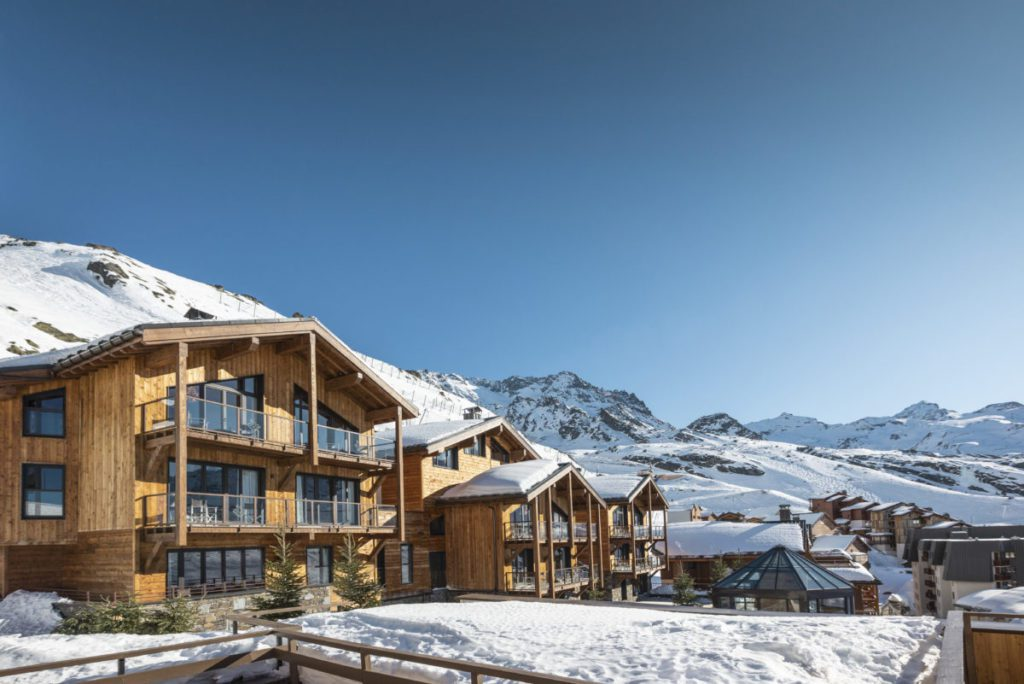 luxury ski chalets to rent in val thorens