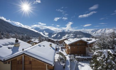 5 luxury chalets with views