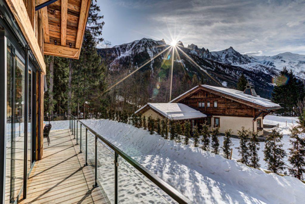 Luxury ski chalets to rent in Chamonix