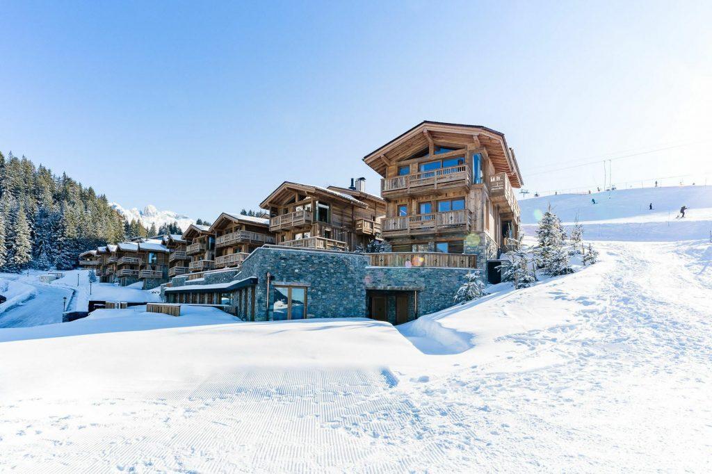 Luxury ski chalet rental
