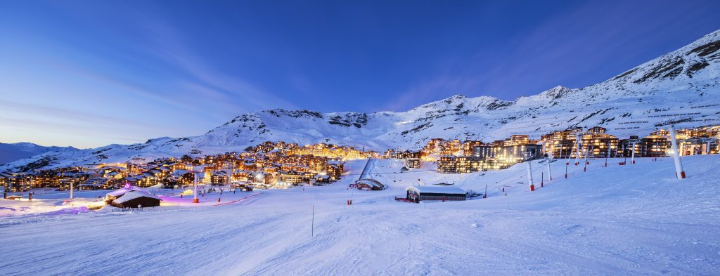 Luxury ski chalets in the french alps