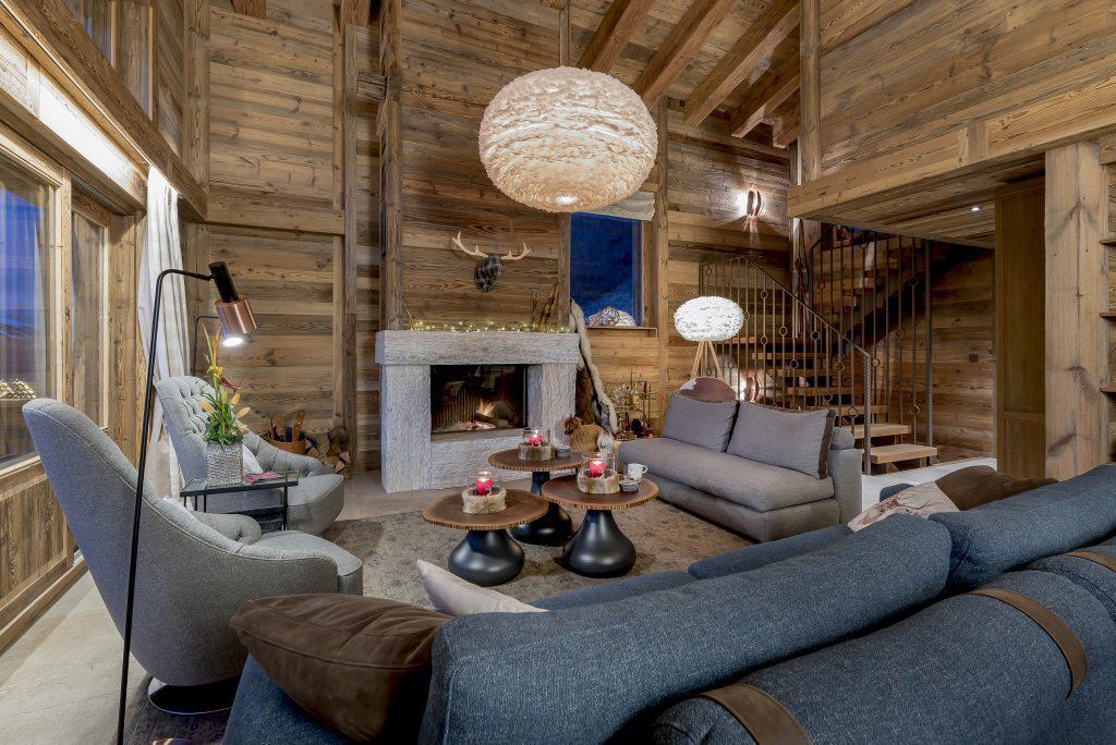 Chalet V lounge