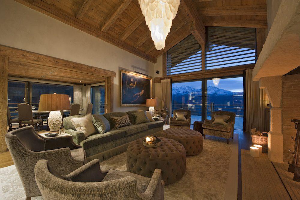 living room norte verbier lodge destinations