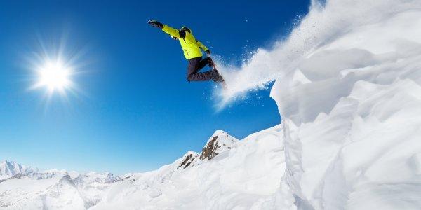 ski in France and Switzerland