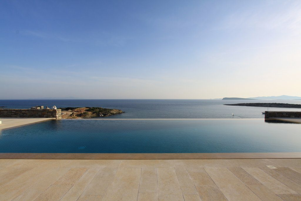 villa elena paros pool