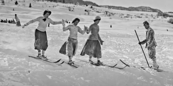 history of skiing