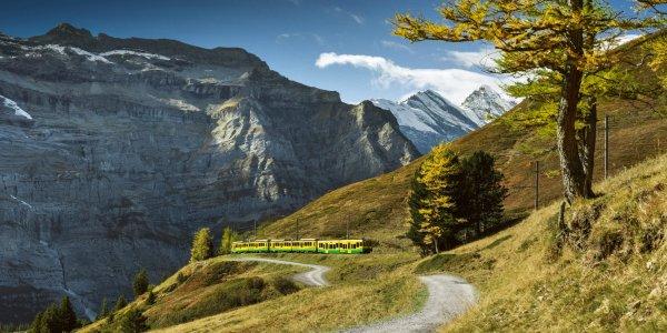 trains in Switzerland