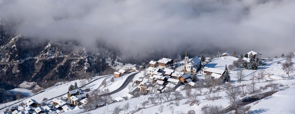 snow swiss landscape lodge destinations
