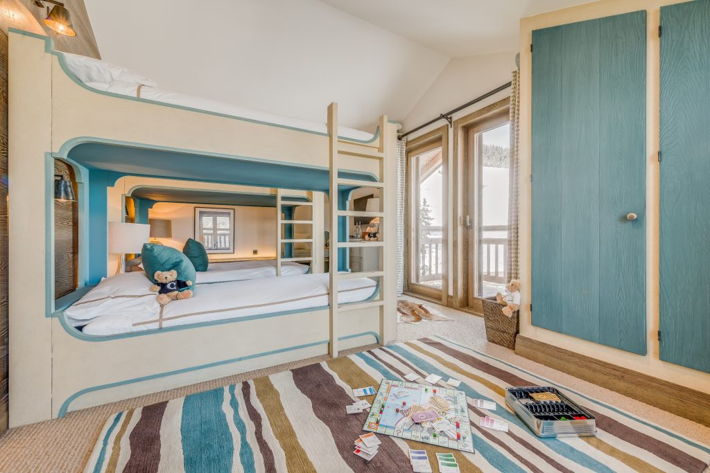 ski chalets for families