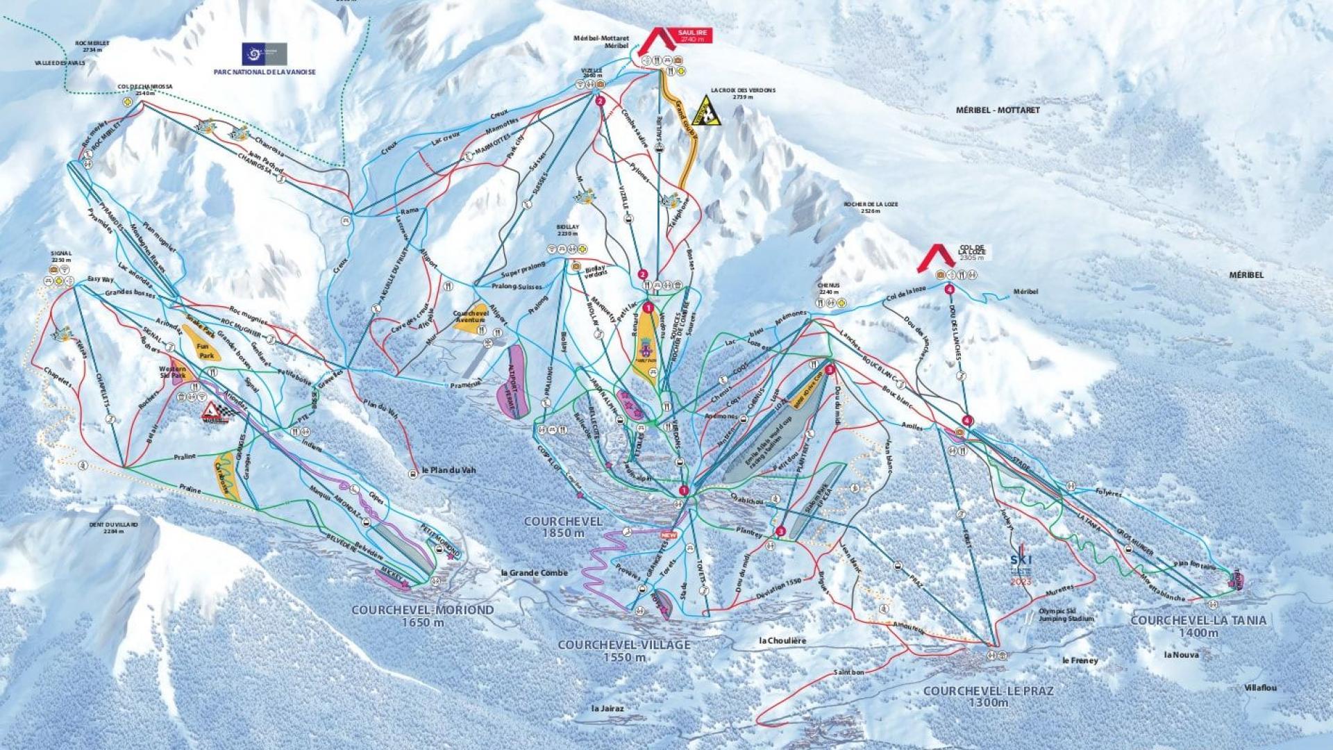 Luxury ski chalets to rent in Courchevel 1850