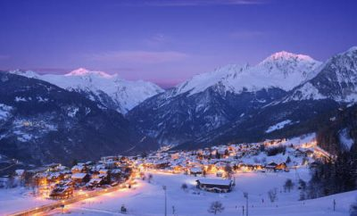 Courchevel is a ski resort with six ski resorts in one