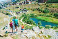 courchevel summer family lodge destinations