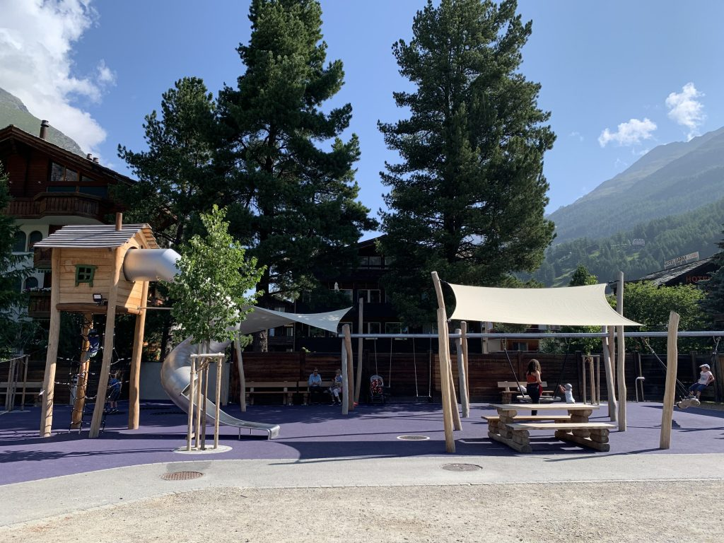 kids playground zermatt lodge destinations