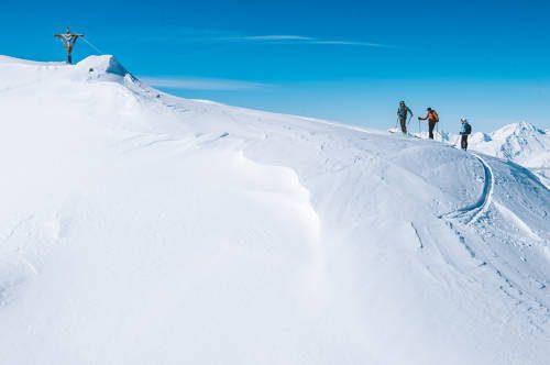 ski touring courchevel 2