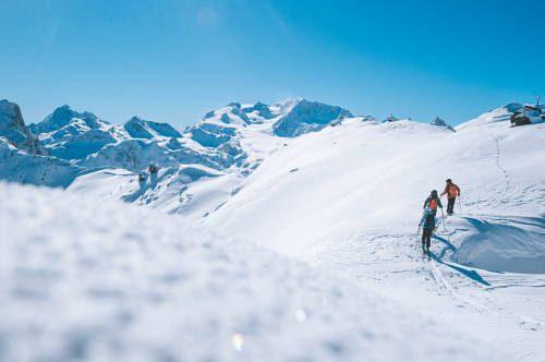 ski touring courchevel